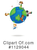 Royalty-Free (RF) Globe Clipart Illustration #1129044