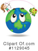 Royalty-Free (RF) Globe Clipart Illustration #1129045