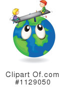 Globe Clipart #1129050 by Graphics RF