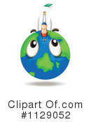 Globe Clipart #1129052 by Graphics RF