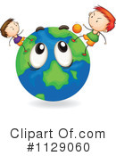 Globe Clipart #1129060 by Graphics RF
