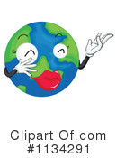 Globe Clipart #1134291 by Graphics RF