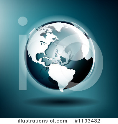 Royalty-Free (RF) Globe Clipart Illustration by TA Images - Stock Sample #1193432