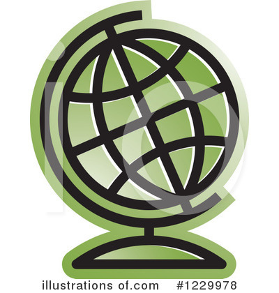 Royalty-Free (RF) Globe Clipart Illustration by Lal Perera - Stock Sample #1229978