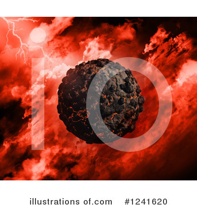 Volcano Clipart #1241620 by KJ Pargeter