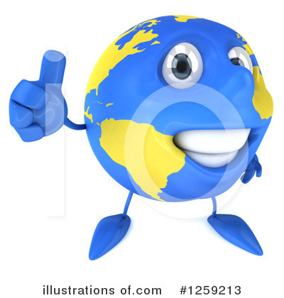 Earth Clipart #1259213 by Julos