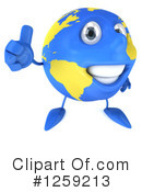 Royalty-Free (RF) Globe Clipart Illustration #1259213
