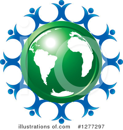 Globe Clipart #1277297 by Lal Perera