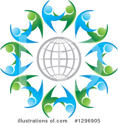 Globe Clipart #1296905 by Lal Perera