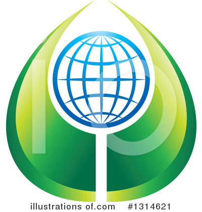 Globe Clipart #1314621 by Lal Perera