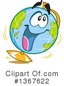 Globe Clipart #1367622 by Clip Art Mascots