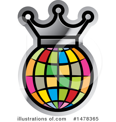 Crown Clipart #1478365 by Lal Perera