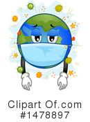 Globe Clipart #1478897 by BNP Design Studio