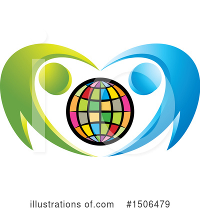 Globe Clipart #1506479 by Lal Perera