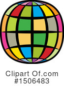 Globe Clipart #1506483 by Lal Perera