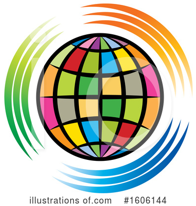 Globe Clipart #1606144 by Lal Perera