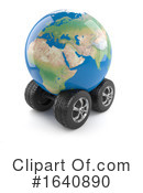 Globe Clipart #1640890 by Steve Young
