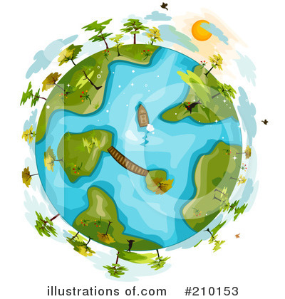 Island Clipart #210153 by BNP Design Studio