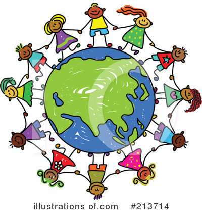 Royalty-Free (RF) Globe Clipart Illustration by Prawny - Stock Sample #213714