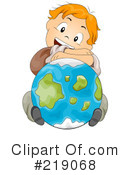 Royalty-Free (RF) Globe Clipart Illustration #219068