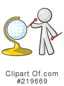 Globe Clipart #219669 by Leo Blanchette
