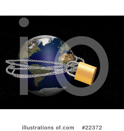 Royalty-Free (RF) Globe Clipart Illustration by KJ Pargeter - Stock Sample #22372