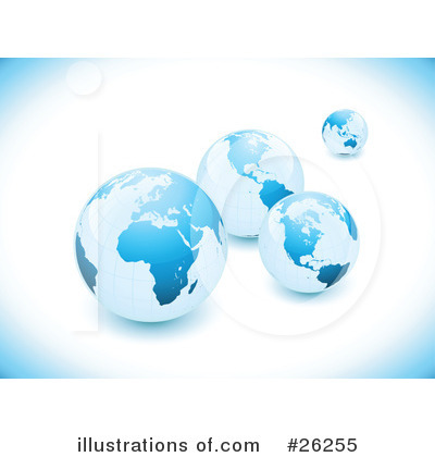 Globe Clipart #26255 by beboy