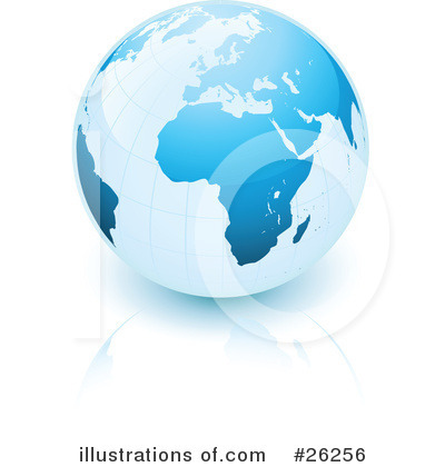 Globe Clipart #26256 by beboy