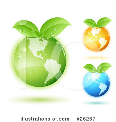 Royalty-Free (RF) Globe Clipart Illustration by beboy - Stock Sample #26257