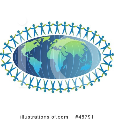 Royalty-Free (RF) Globe Clipart Illustration by Prawny - Stock Sample #48791