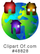 Royalty-Free (RF) Globe Clipart Illustration #48828
