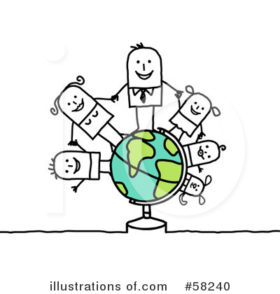 Family Clipart #58240 by NL shop