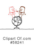 Royalty-Free (RF) Globe Clipart Illustration #58241