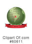 Globe Clipart #60611 by Michael Schmeling