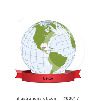 Royalty-Free (RF) Globe Clipart Illustration by Michael Schmeling - Stock Sample #60617