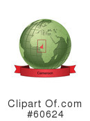 Globe Clipart #60624 by Michael Schmeling