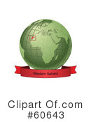 Globe Clipart #60643 by Michael Schmeling