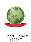 Globe Clipart #60647 by Michael Schmeling
