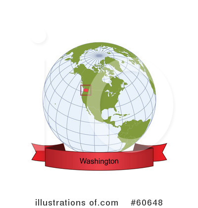 Royalty-Free (RF) Globe Clipart Illustration by Michael Schmeling - Stock Sample #60648