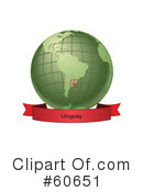 Globe Clipart #60651 by Michael Schmeling