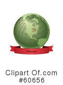 Globe Clipart #60656 by Michael Schmeling