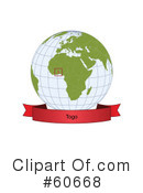 Globe Clipart #60668 by Michael Schmeling
