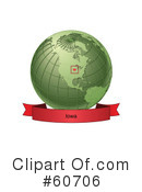 Globe Clipart #60706 by Michael Schmeling