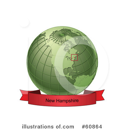 Royalty-Free (RF) Globe Clipart Illustration by Michael Schmeling - Stock Sample #60864