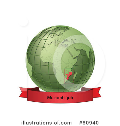 Royalty-Free (RF) Globe Clipart Illustration by Michael Schmeling - Stock Sample #60940
