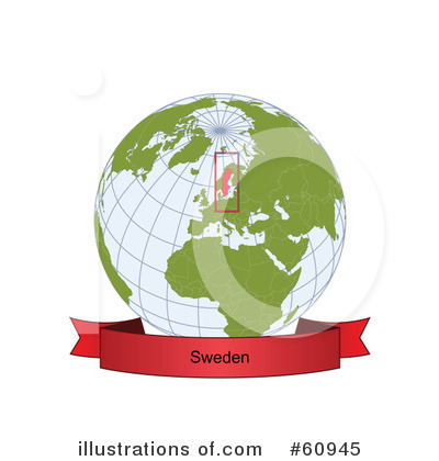 Royalty-Free (RF) Globe Clipart Illustration by Michael Schmeling - Stock Sample #60945