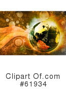 Globe Clipart #61934 by chrisroll