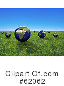 Globe Clipart #62062 by chrisroll
