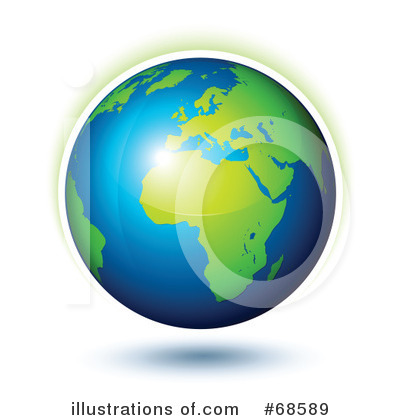 Royalty-Free (RF) Globe Clipart Illustration by beboy - Stock Sample #68589