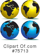 Globe Clipart #75713 by Lal Perera